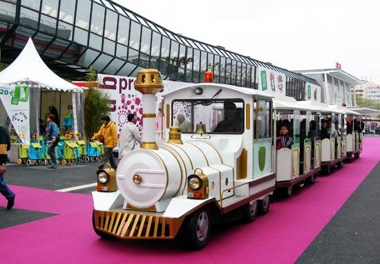 A l'assaut du petit train touristique !