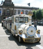 Petit train touristique Lyon