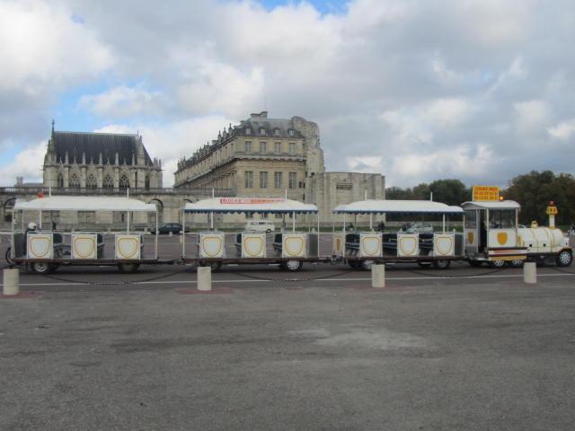 Petit train touristique Versailles