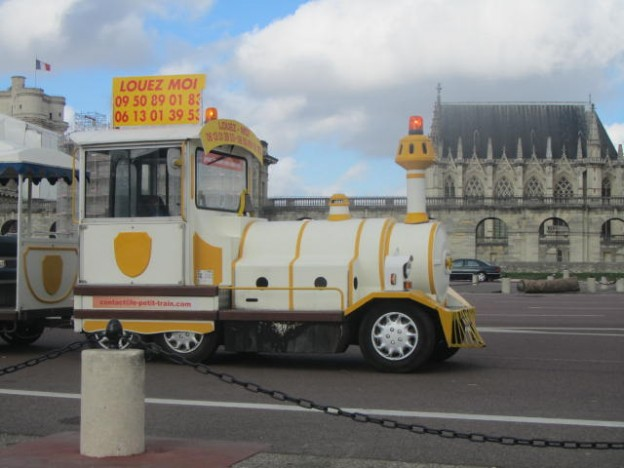 Petit train Versailles