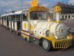 Prenez un bol d'air avec le train jaune…